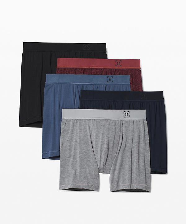 Always in Motion Boxer 5 *5-Pack   Men's Underwear