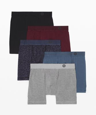 "Always in Motion Boxer 5"" *5 Pack"