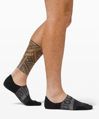 Power Stride No Show Sock *Active Grip Wordmark Anti-Stink