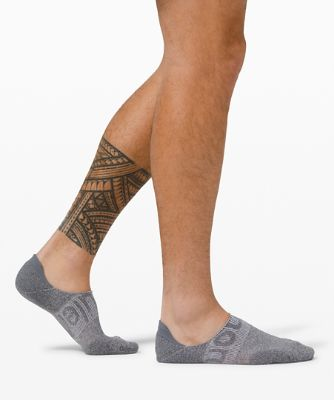 Power Stride No Show Sock *Active Grip Wordmark Anti-Stink