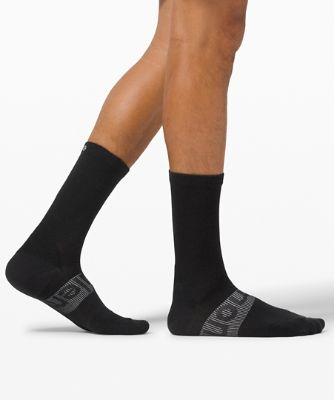 Power Stride Crew Sock *Wool
