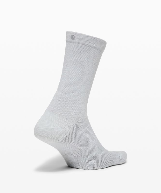 Power Stride Crew Sock *Wool