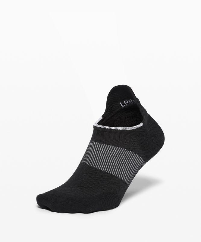 Power Stride Tab Sock *Stripe