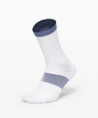 Power Stride Crew Sock *Stripe