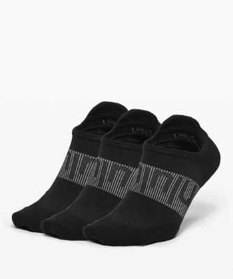 Power Stride Tab Sock *3 Pack Wordmark Silver