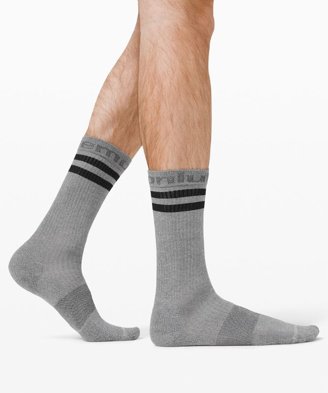 Daily Stride Crew Sock Sport Stripe *3 Pack Boxed Set