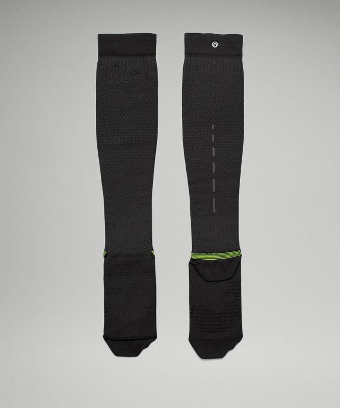MicroPillow™ Men's Compression Run Sock