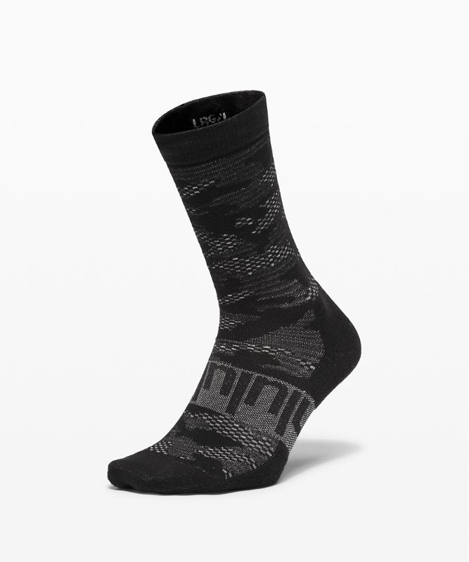Daily Stride Crew Sock *Camo