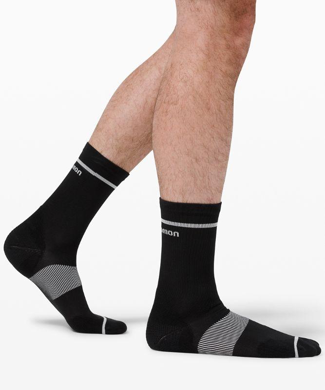 Power Stride Crew Sock Stripe *2 Pack