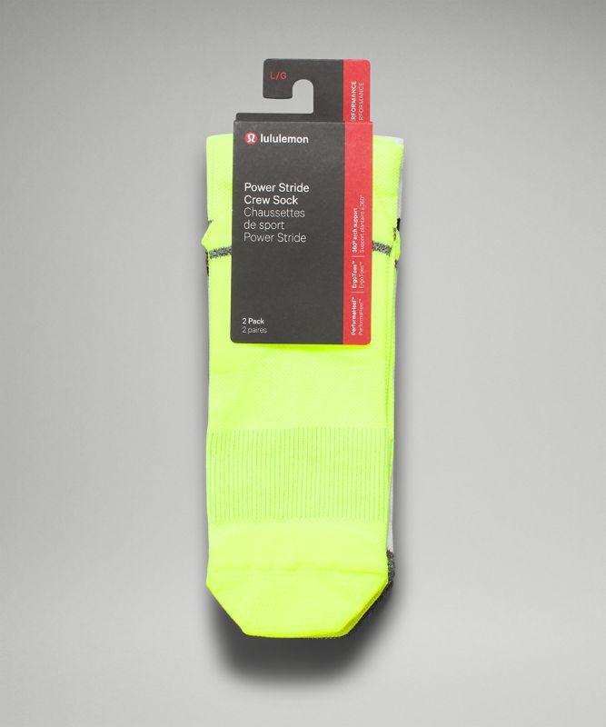 Power Stride Crew Sock *2P