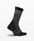 Power Stride Crew Sock *Refl