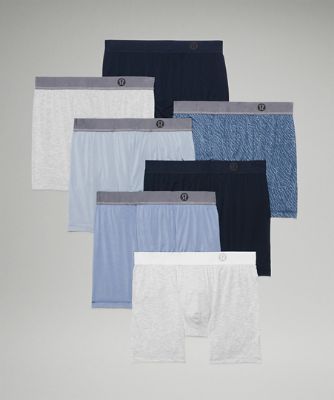 """Always in Motion Boxer 5"""" *7 Pack"""