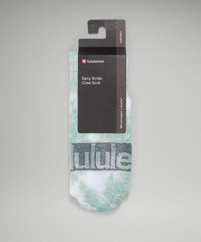 Daily Stride Men's Crew Sock *Tie Dye