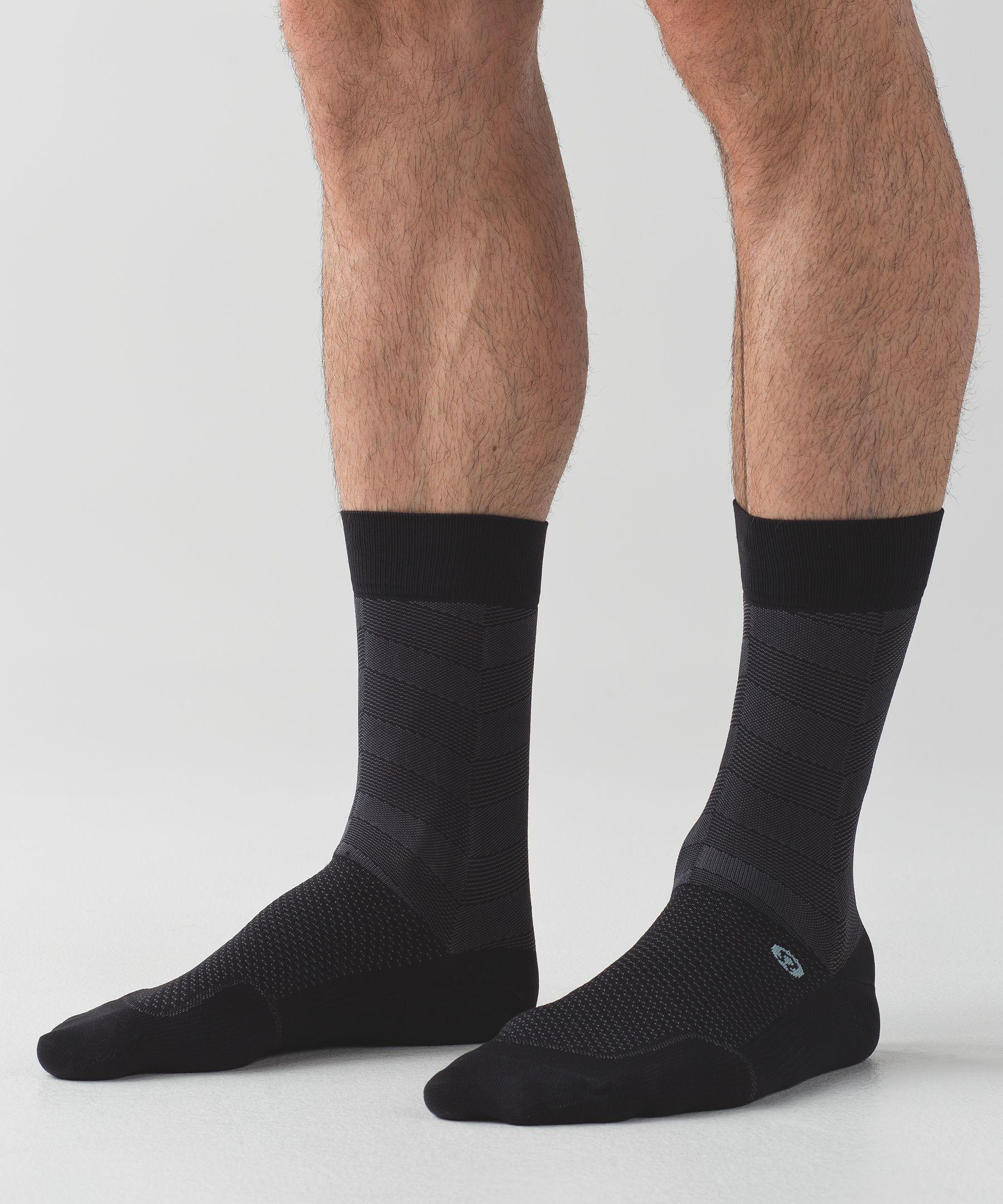City Sock *Silver