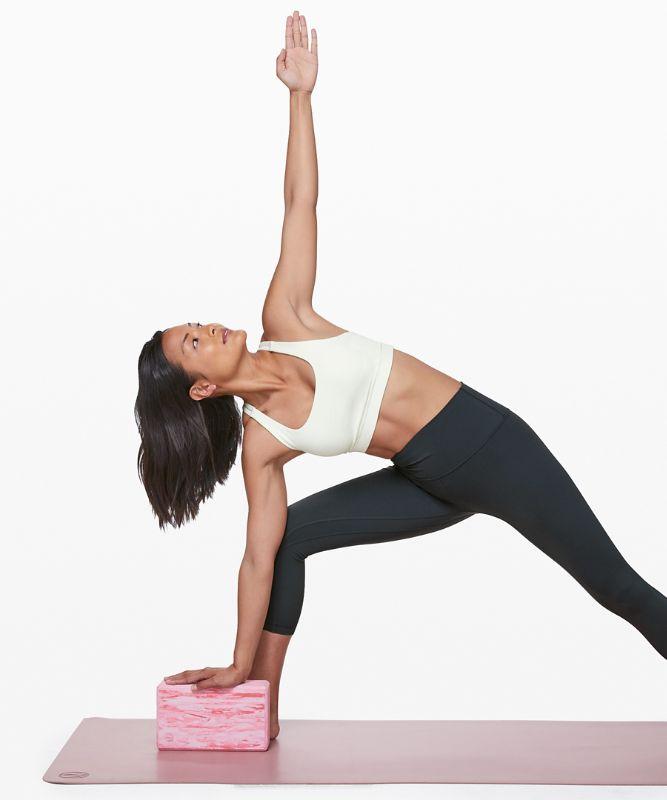 Lift and Lengthen Yoga Block