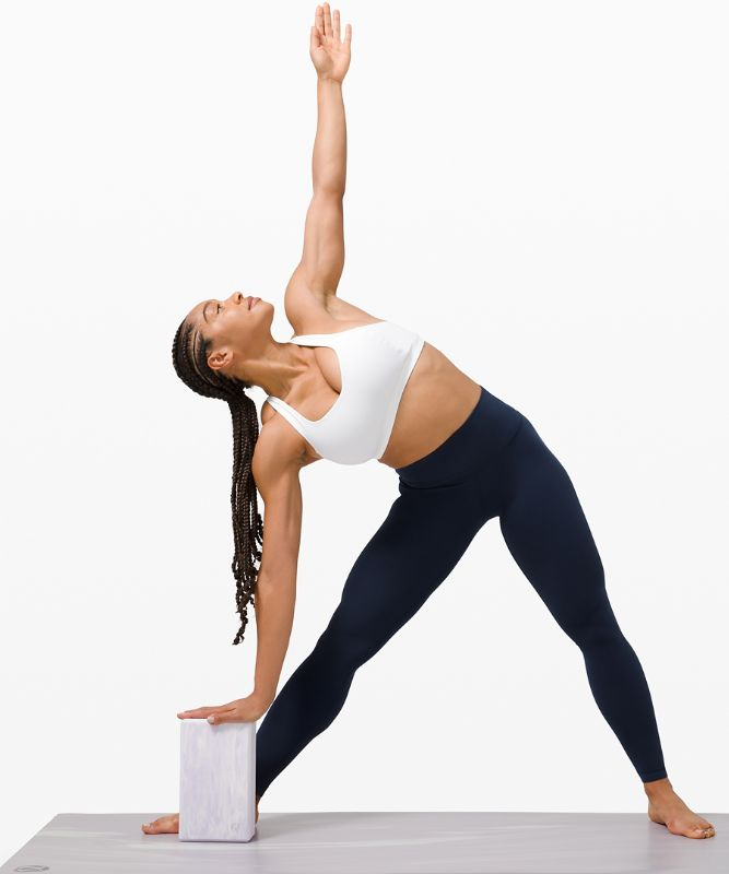 Lift and Lengthen Yoga Block