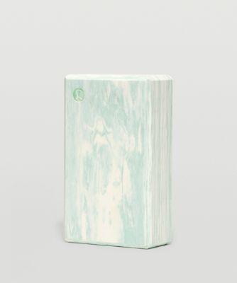 리프트 앤 렝슨 요가 블럭 마블, ARCTIC GREEN-WHITE