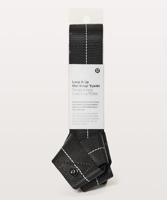Loop It Up Mat Strap*Eyelet BLK O/S