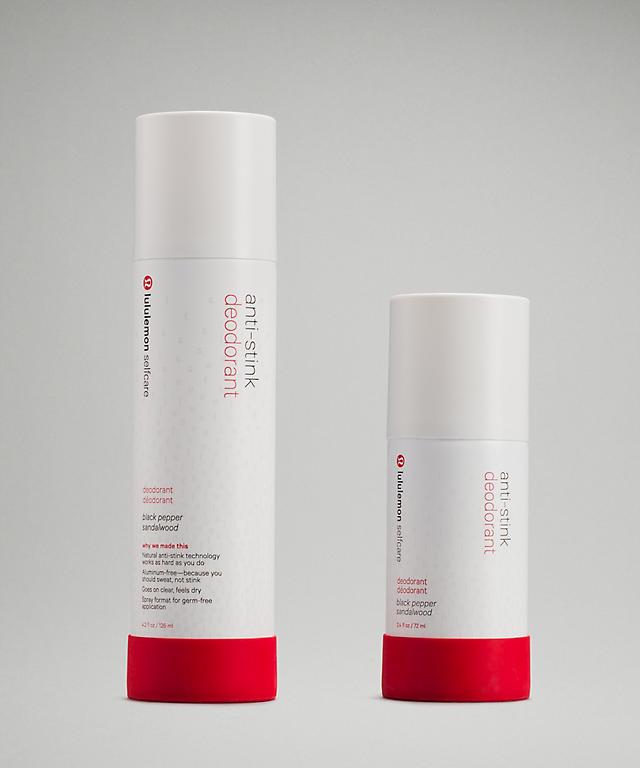 anti-stink deodorant *black pepper sandalwood | lululemon selfcare