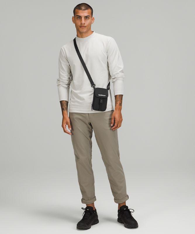 Zip-Top Crossbody Bag