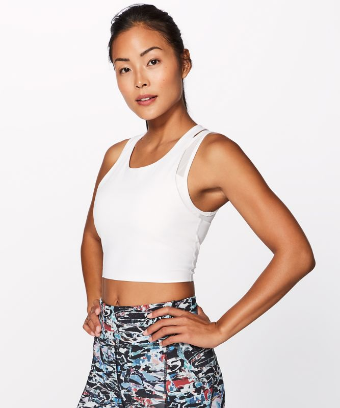 Break Free Tank *Nulux Medium Support For B/C Cup