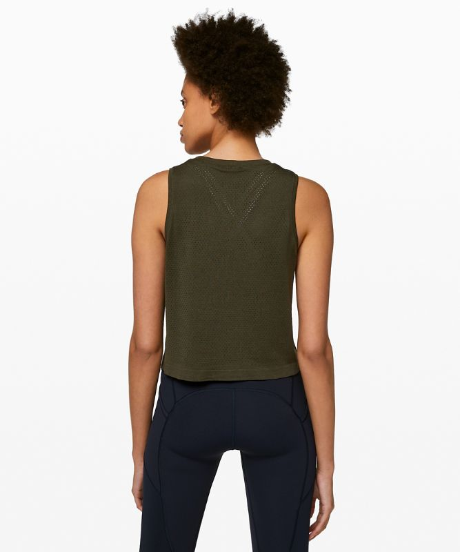 Breeze By Muscle Crop Tank *lululemon
