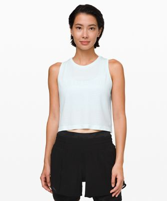 Breeze By Muscle Crop-Tanktop *lululemon
