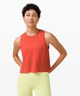 Breeze By Muscle Crop Tank
