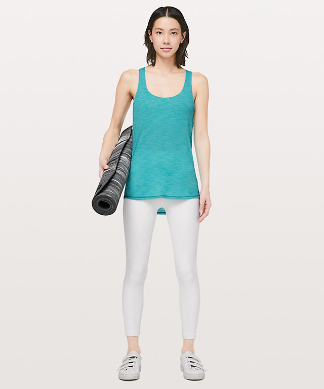 e6f85321b22a5 ... Heathered Amazonite Ocean Mist Slay The Studio 2-In-1 Tank Medium  Support ...