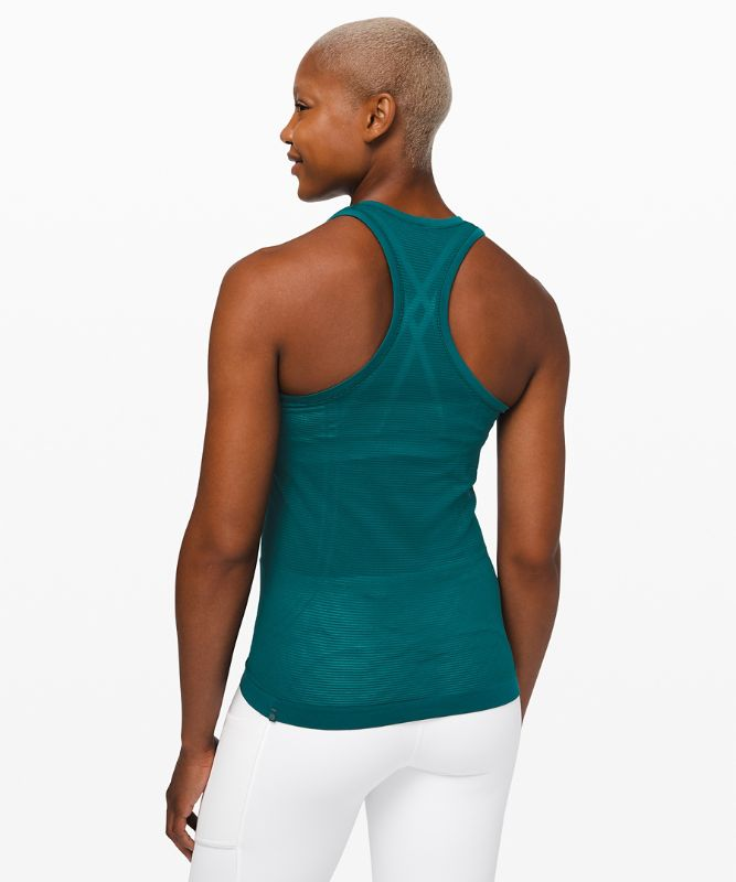 Swiftly Speed Racerback *Sheer Stripe