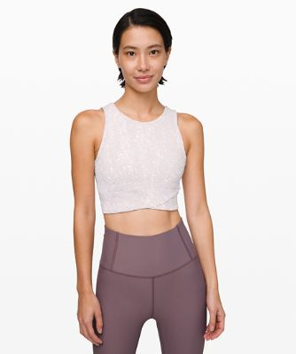 Energetic Edge Cropped Tank