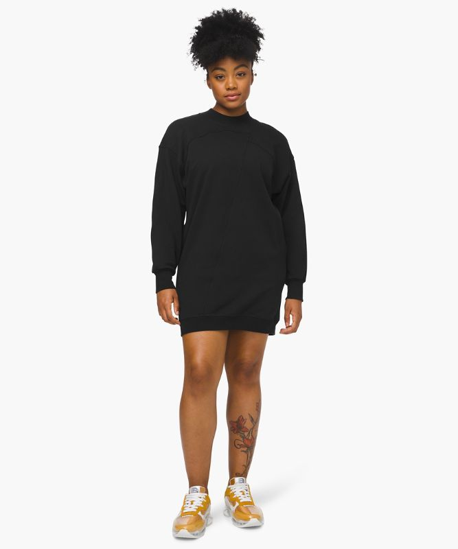 Broken Beats Sweater Dress