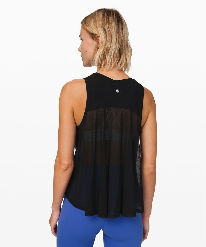 Just Pleat it Tank *Mesh