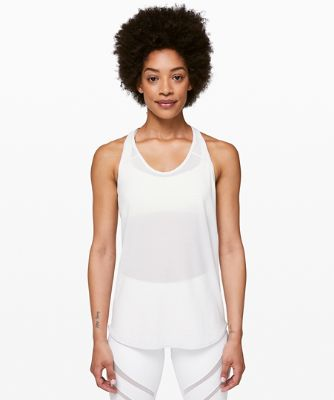 Essential Tank *Scallop Texture