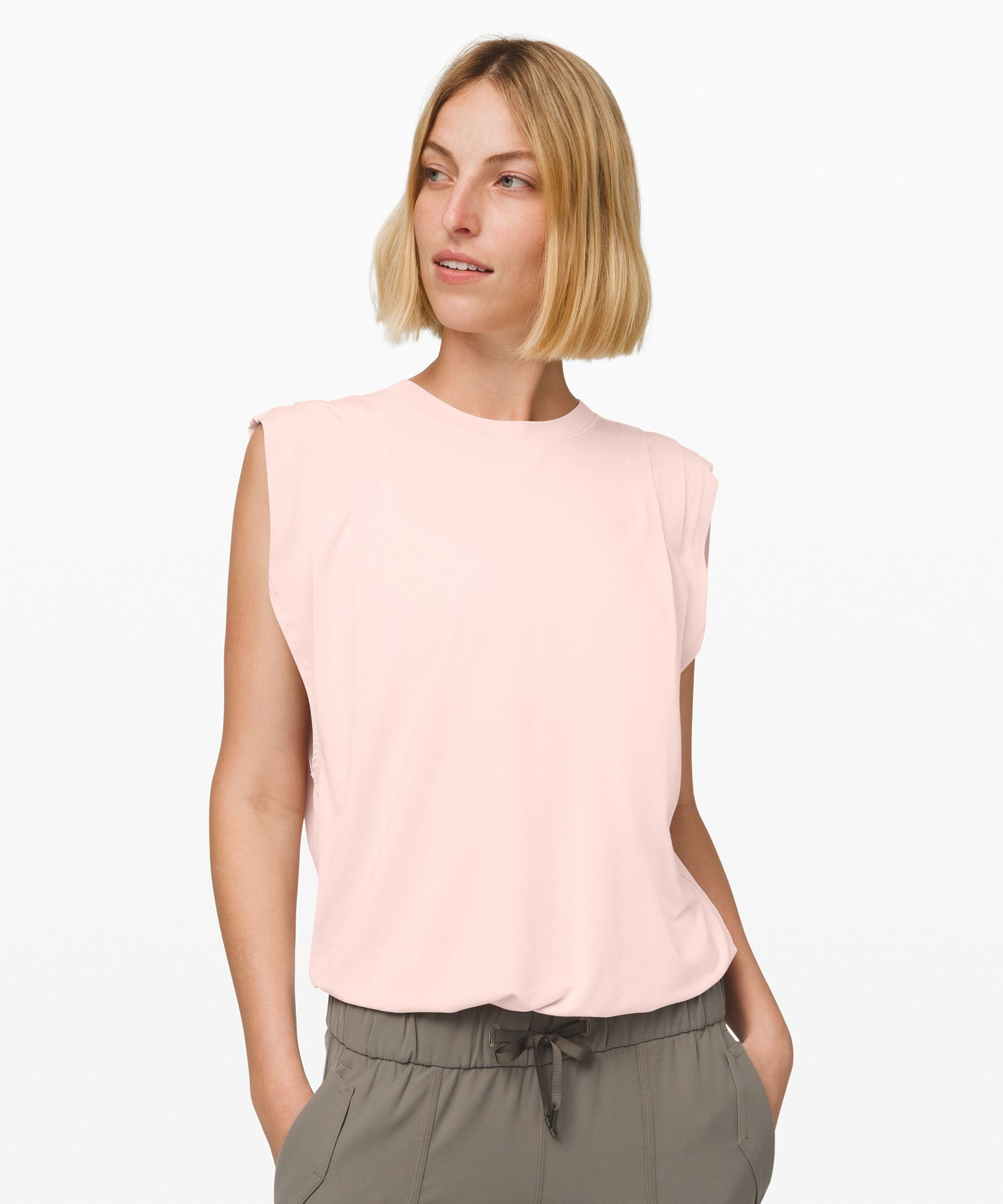 Lululemon Hour To Hour Bodysuit In Pink Bliss