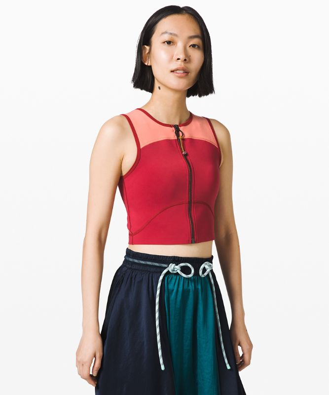 Face Forward Crop Top