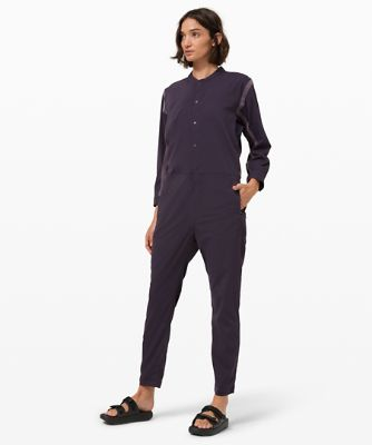 Take The Moment Jumpsuit *lululemon x Robert Geller