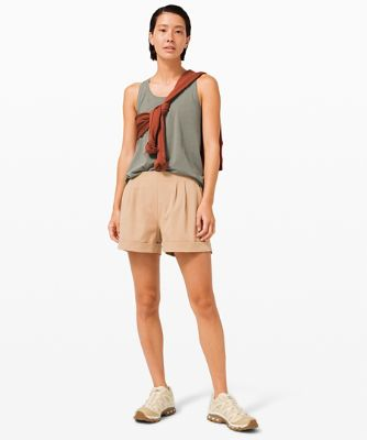 Love Tank *Pleated