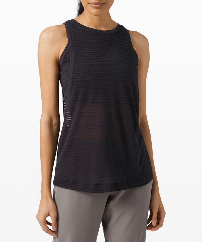 Clear and Present Muscle Tank