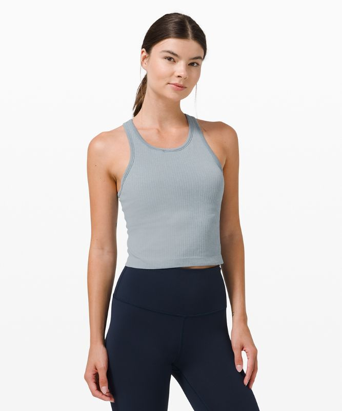 Ebb To The Street Crop-Tanktop mit Racerback