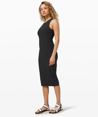 브런치 앤 백 드레스, BLACK
