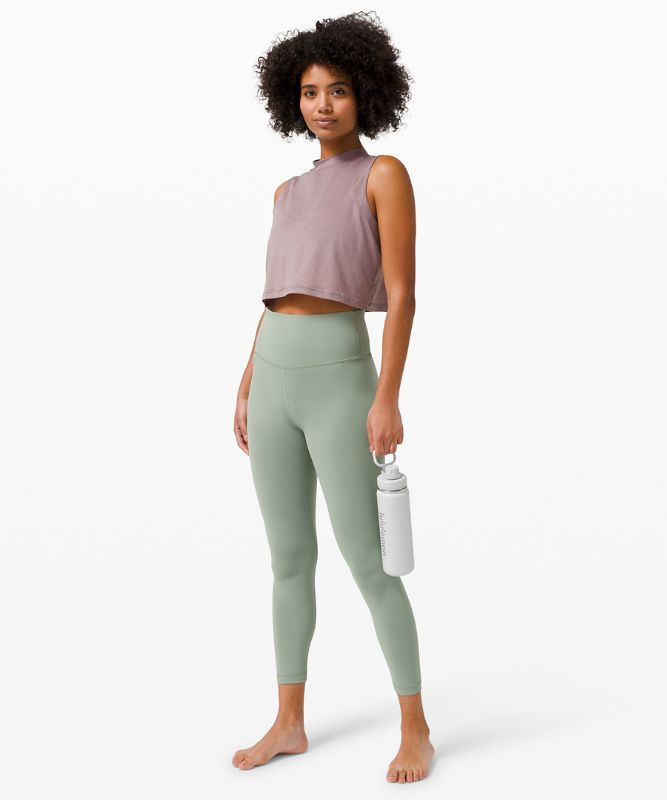 Flow Y 2-in-1 Cropped Tank