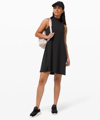 All Aligned A-Linien-Kleid
