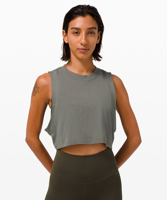 All Yours Crop Tank