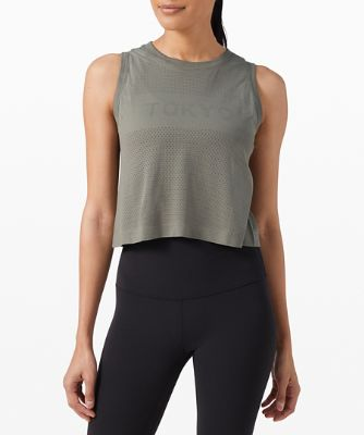 Swiftly Breathe Crop Tank TYO