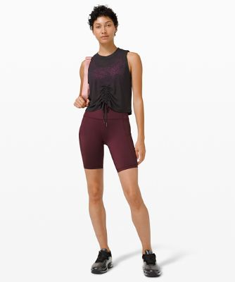 Cinch Me Up Front Tank *Veil