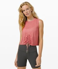 FEMININE HIGH VOLUME BURNOUT TANK