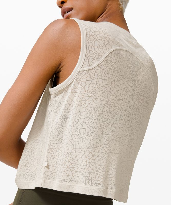Clinch Me Up Front Tank *Veil