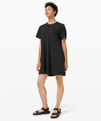 올 유어스 티 드레스, BLACK