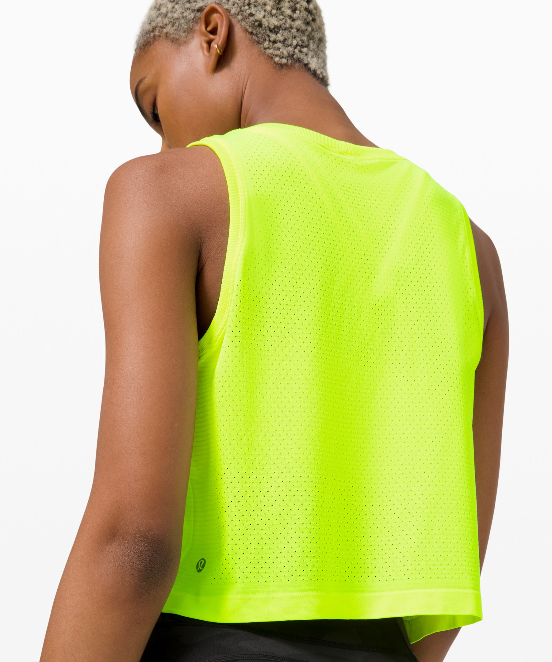 Swiftly Breathe Crop Tank